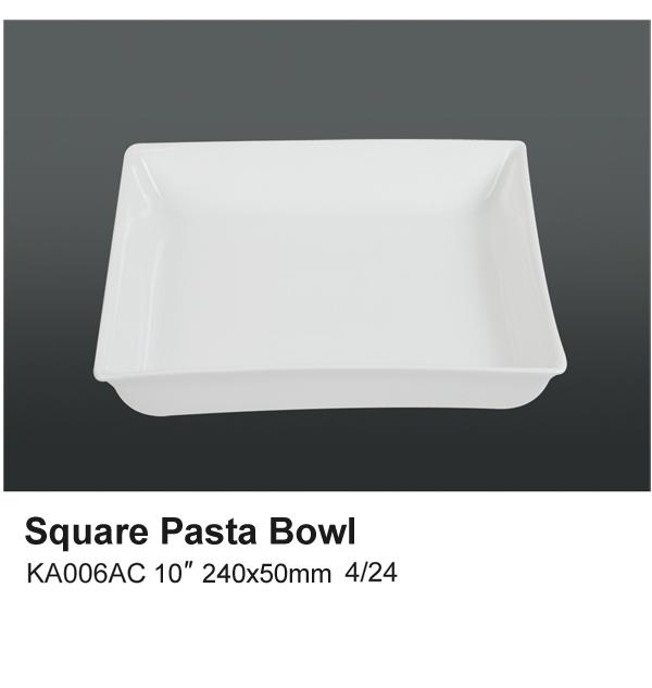 Square Pasta Bowl